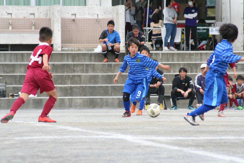 4/10(日) フェアプレーカップ1次予選 七国小学校
