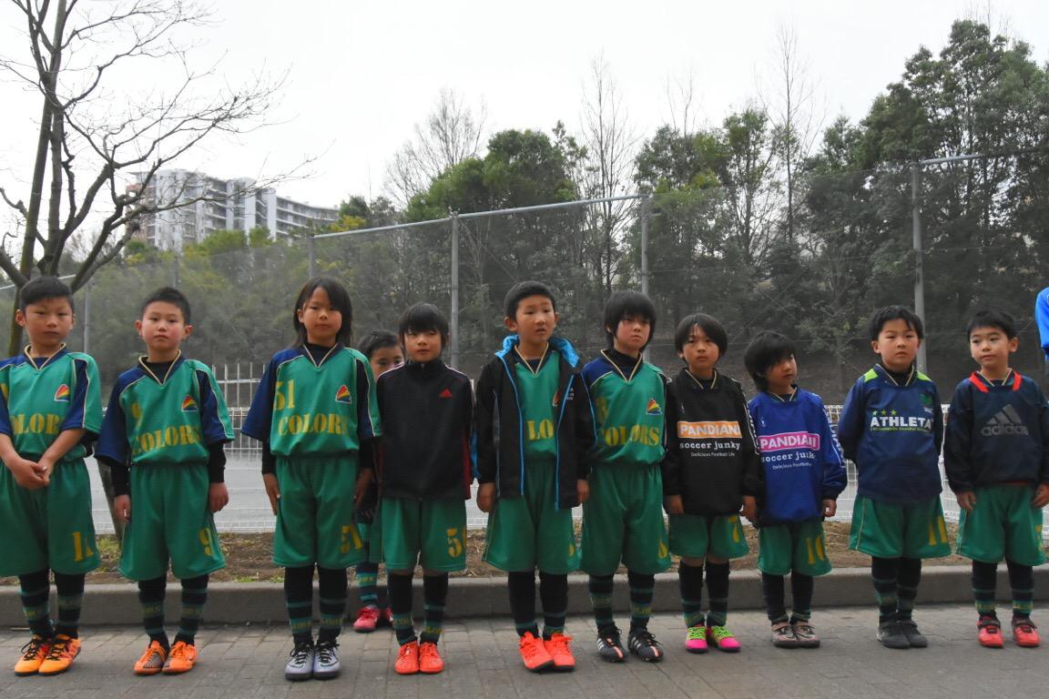 4/24(日) 3年生春季カップ第1戦