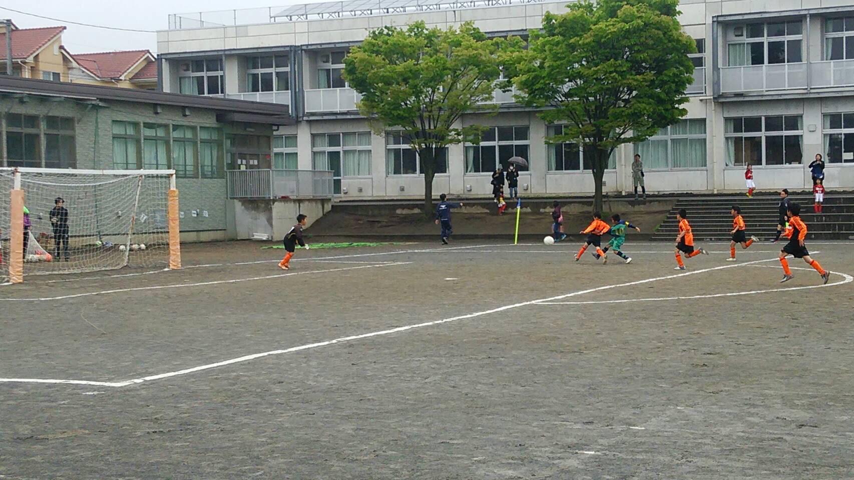 4/24(日) 春季カップ予選 七国小学校