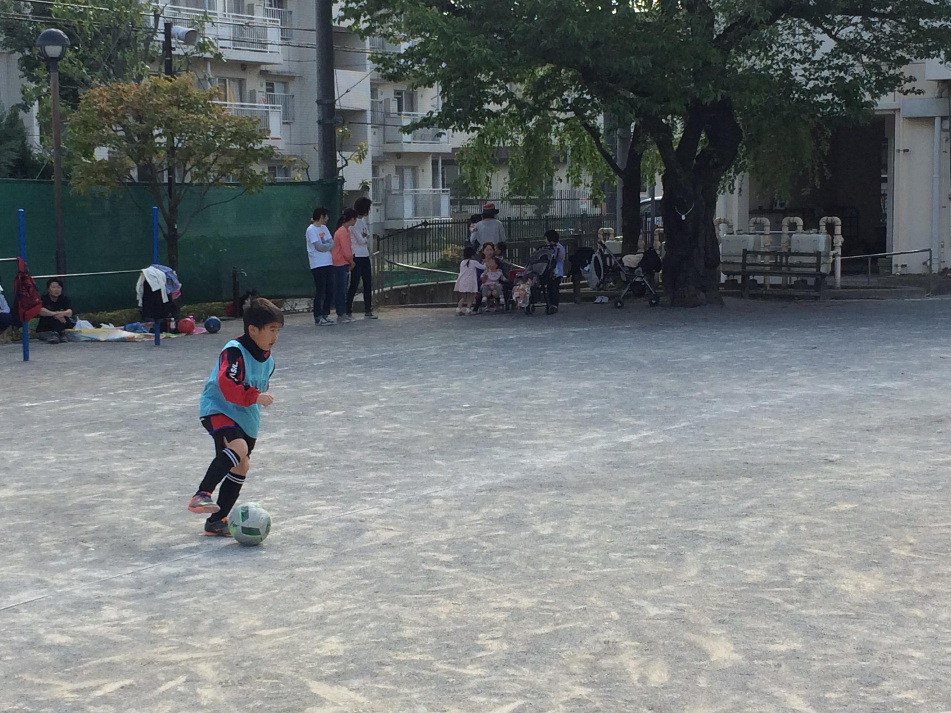 4/30(土)練習&親子サッカー