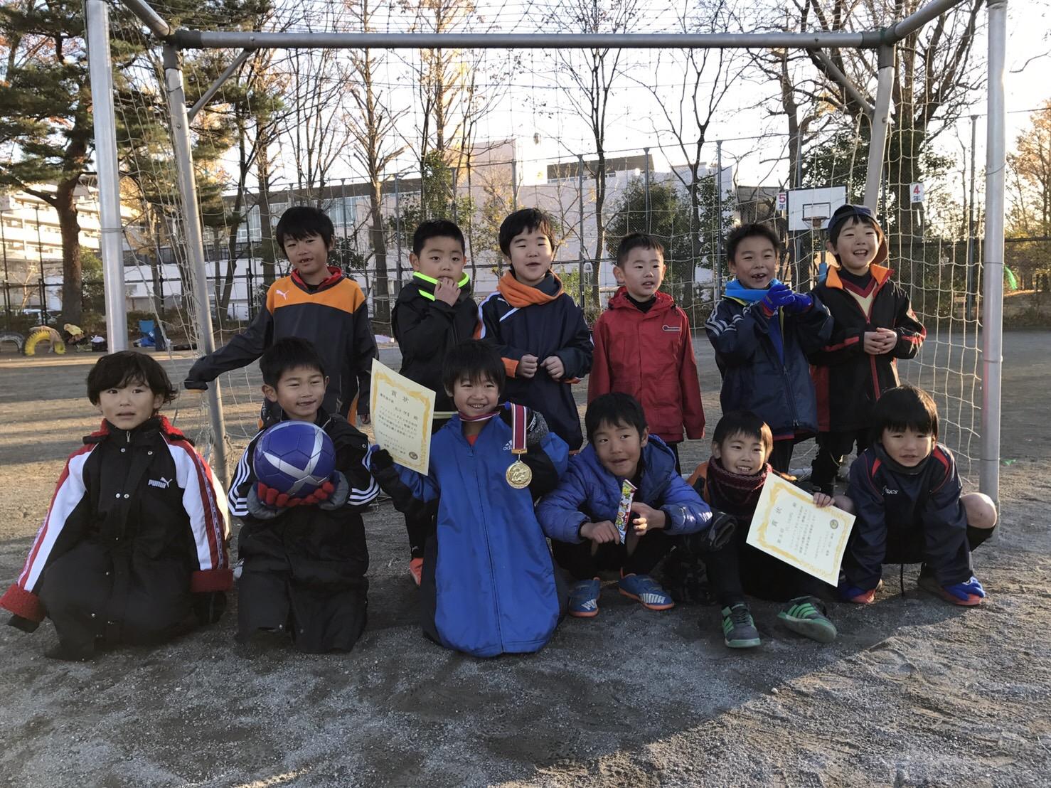 12/11(日) プリメイロス招待大会