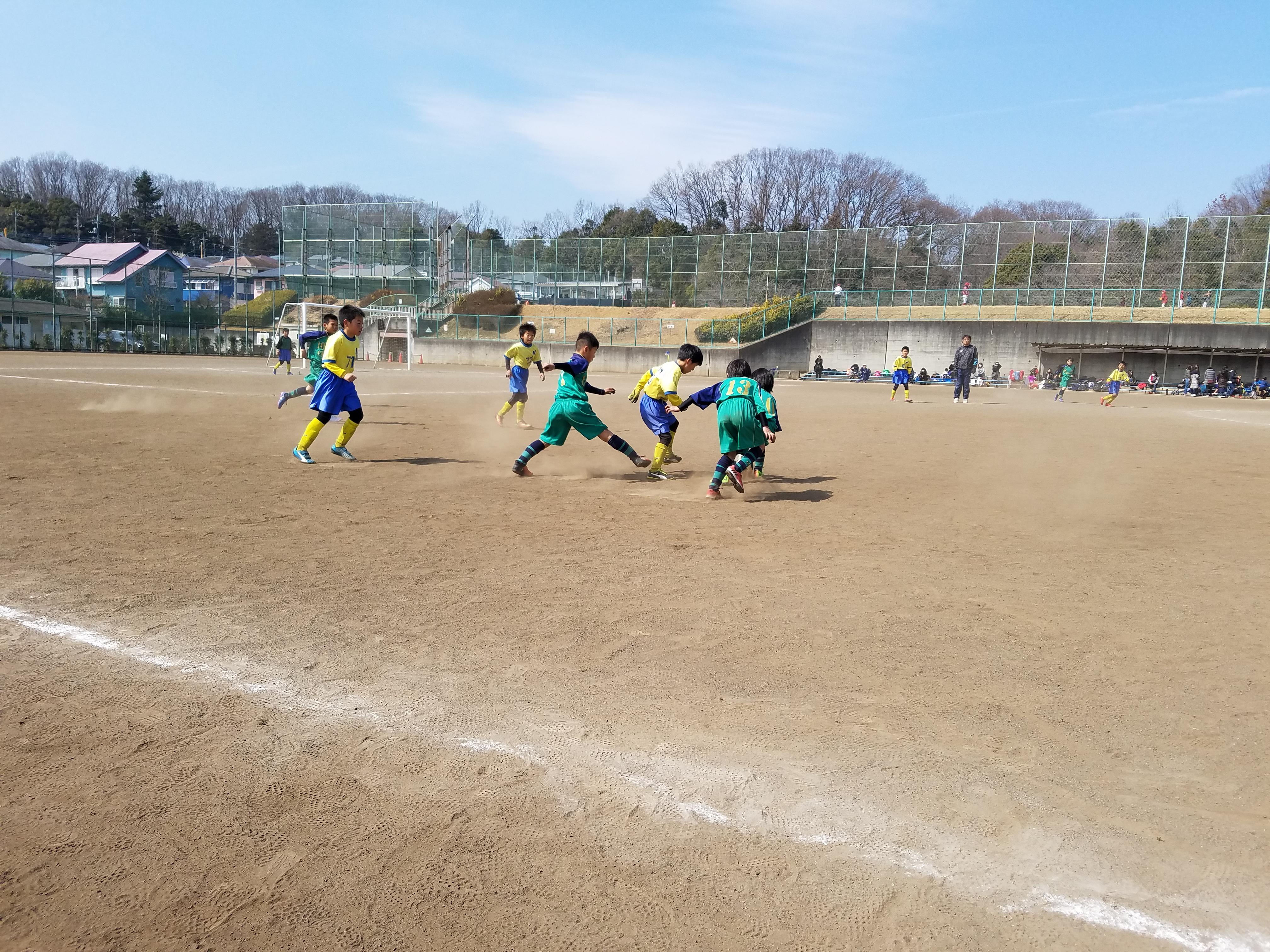 3月12日(日) 川町運動場少年サッカー場