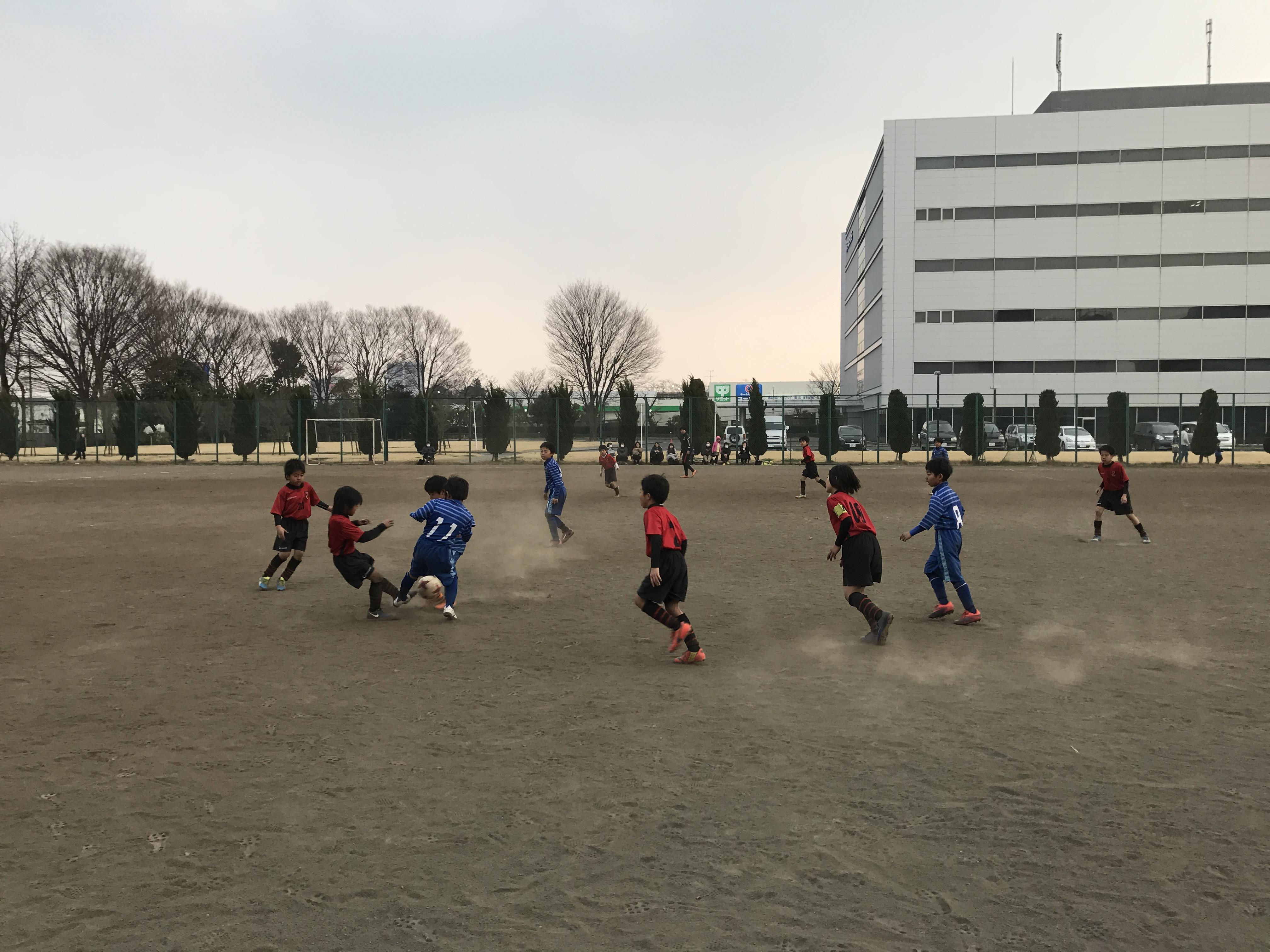 3/19(日)小平企業グラウンドTRM