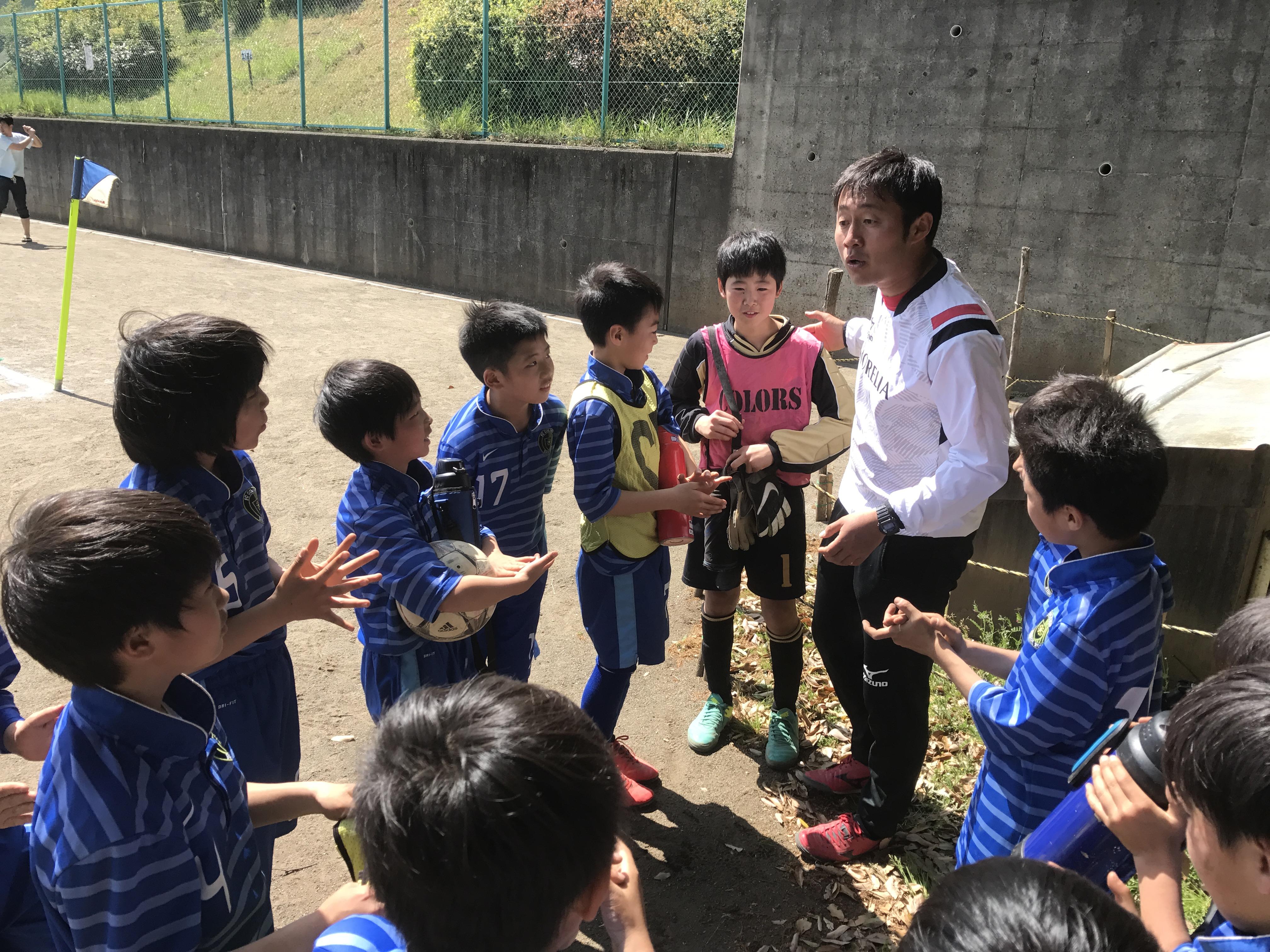 4/30(日) 春季カップ決勝トーナメント①