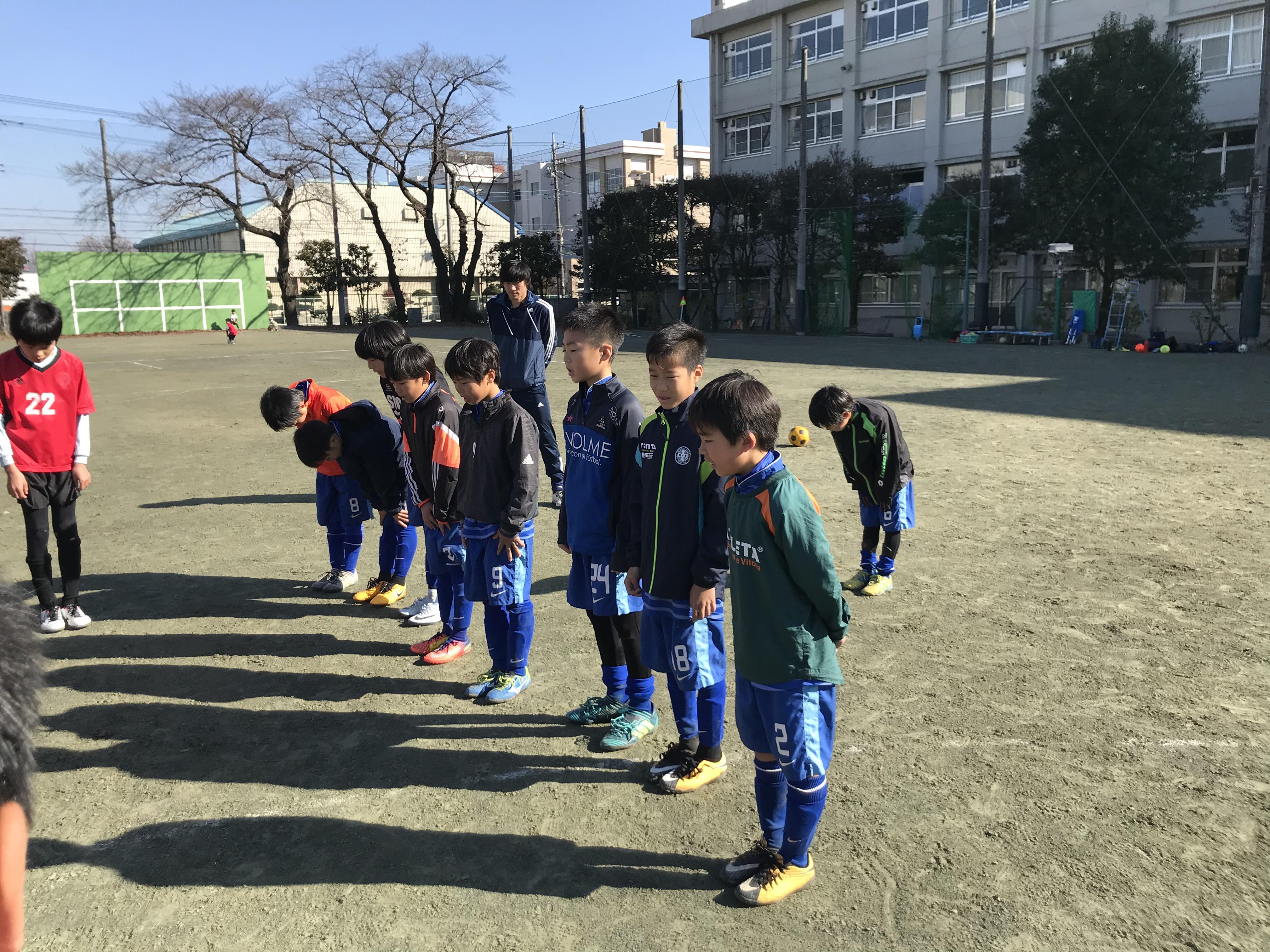 12/3(日)5年 八王子東高TRM