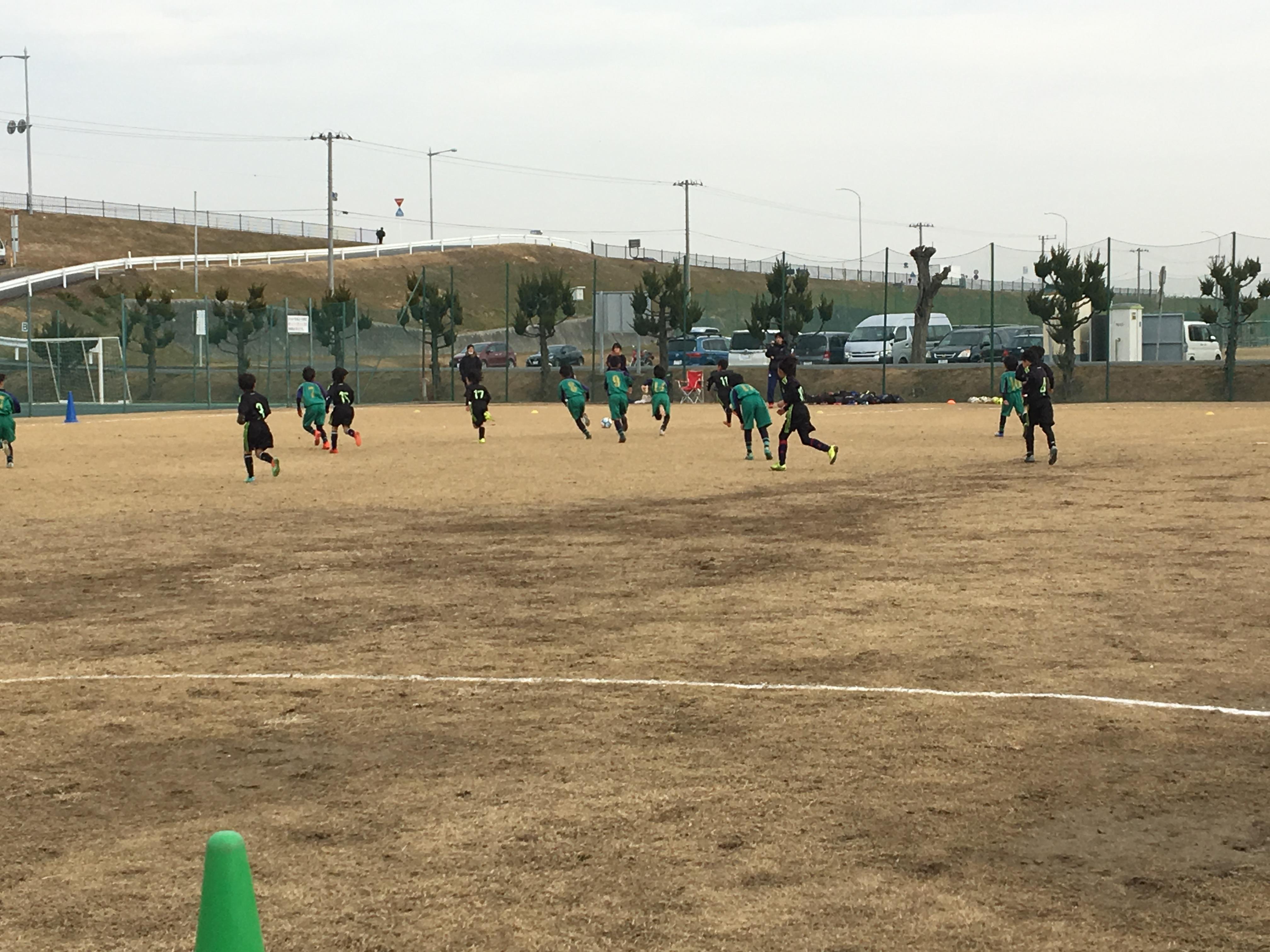 2月10日(土) 大宮けんぽグランド 松林少年サッカークラブ 招待大会
