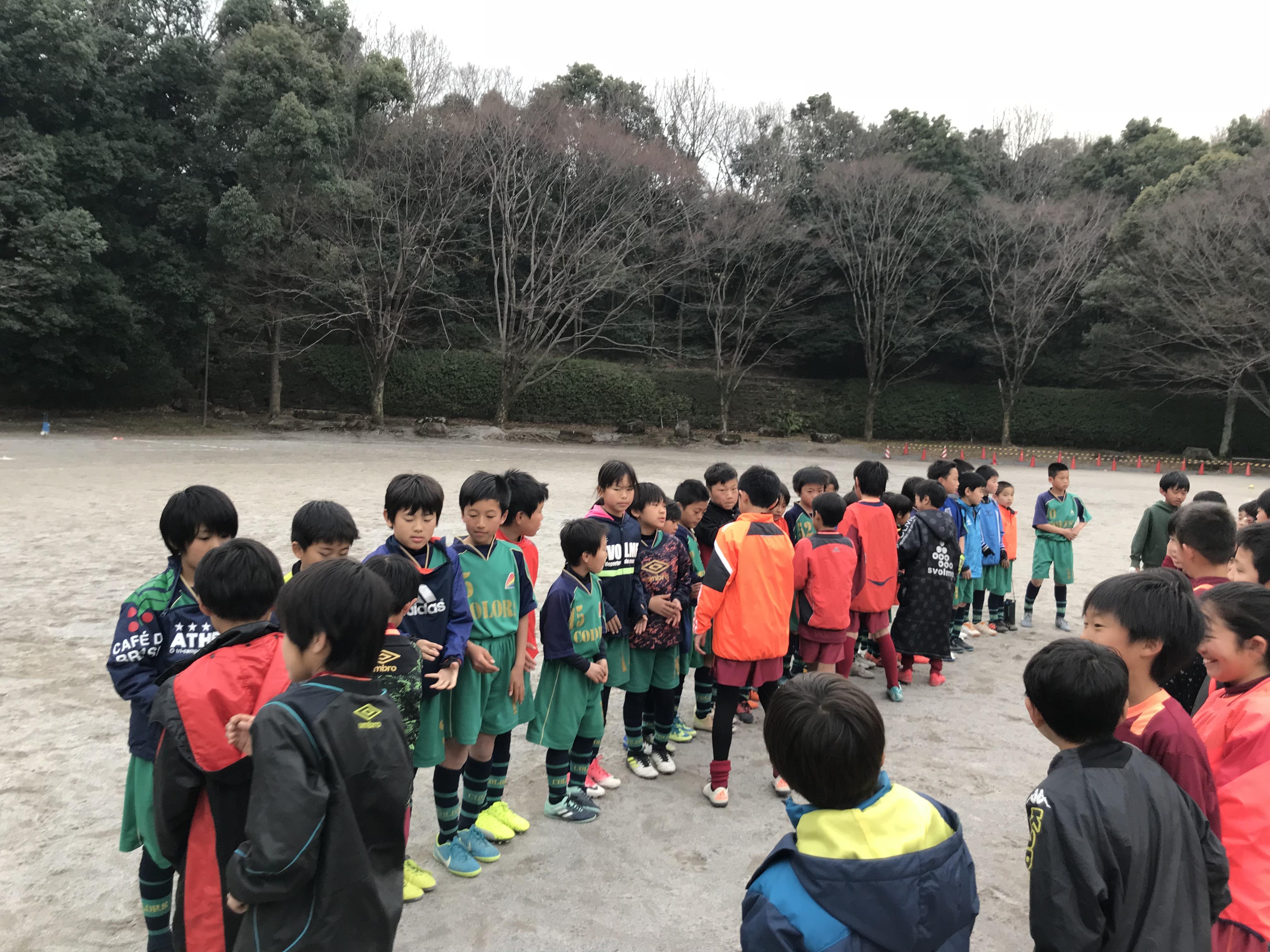 3/3(土)3年野津田公園TRM