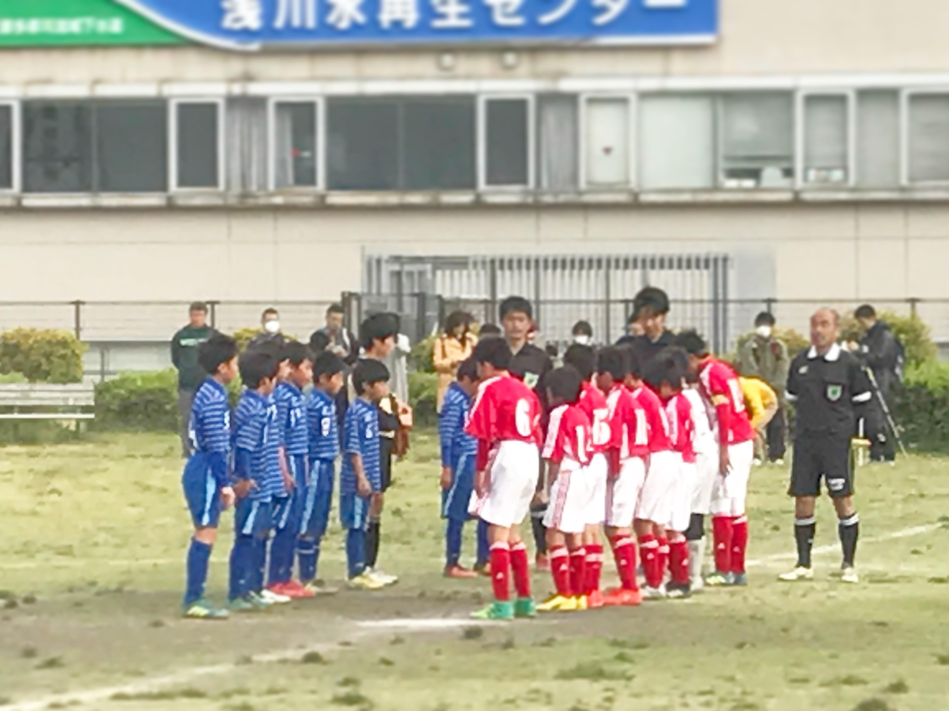 4/14(土) U-12リーグ 第5.6節
