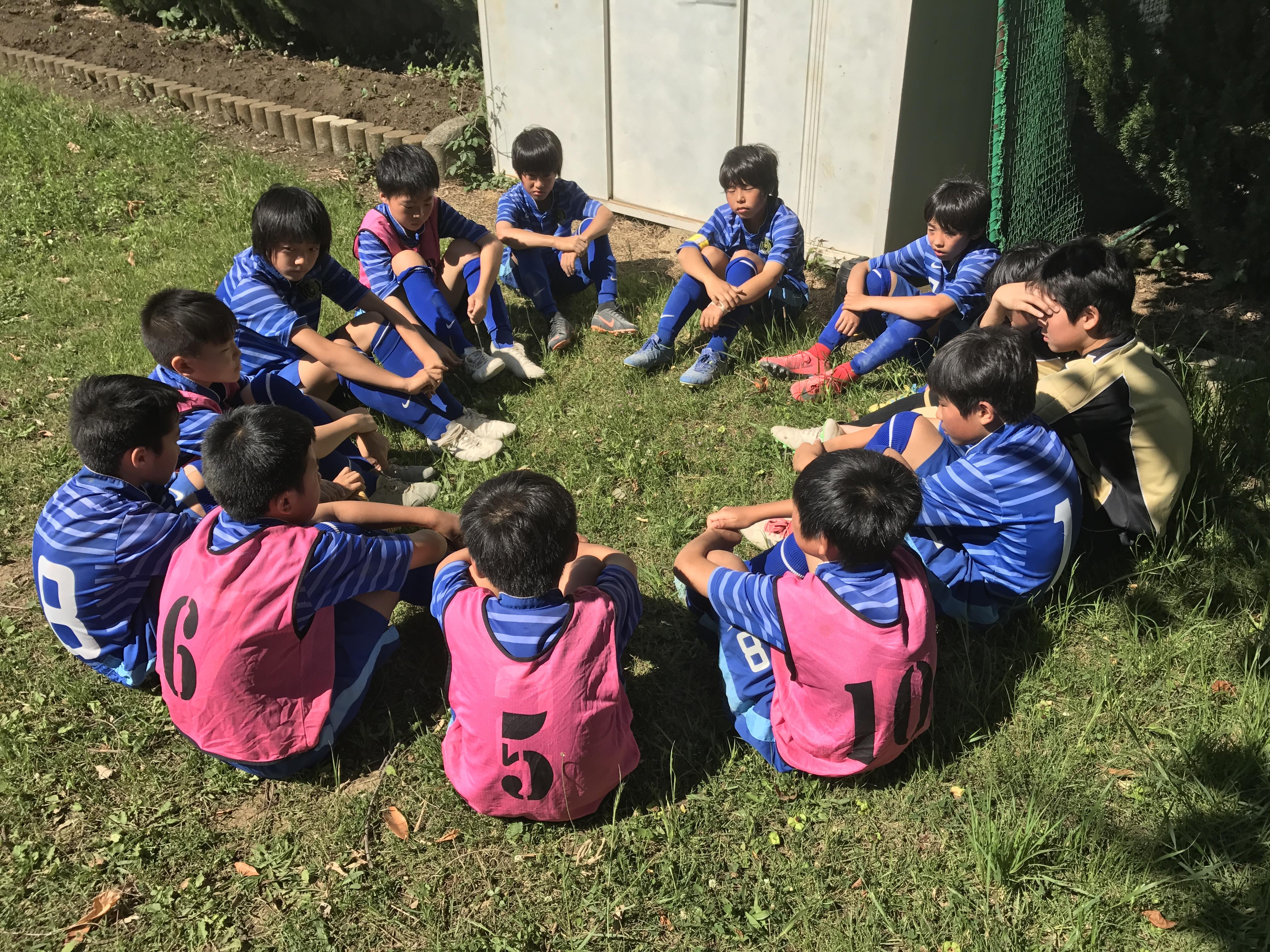5/20(日) U-12リーグ 前期 最終日