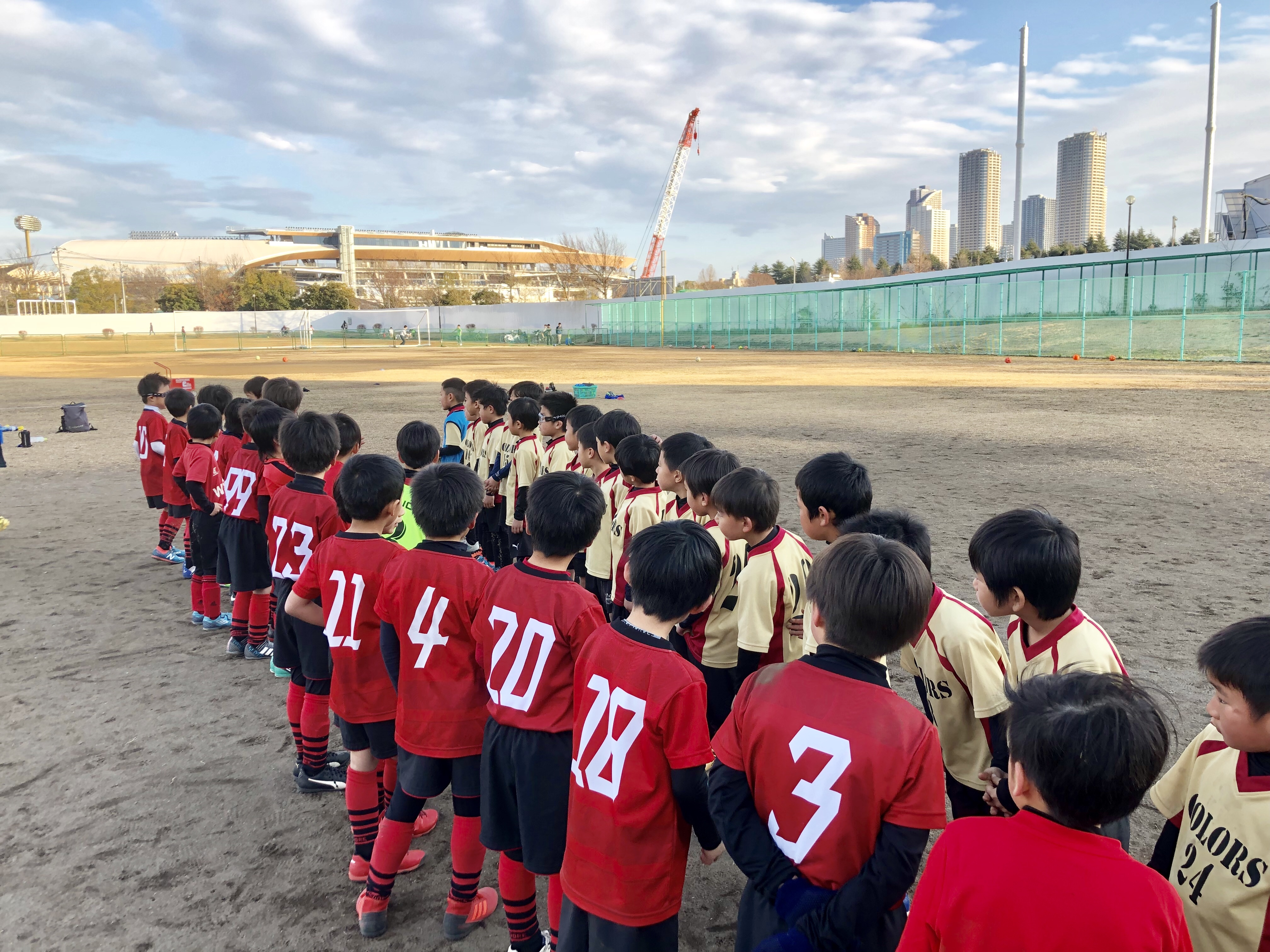 2/3(日)1年生川崎遠征