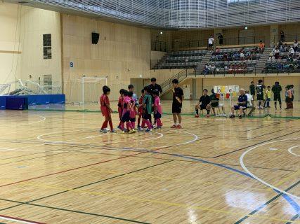 9/8(日)  八王子Jr.フットサル大会  4年生の部