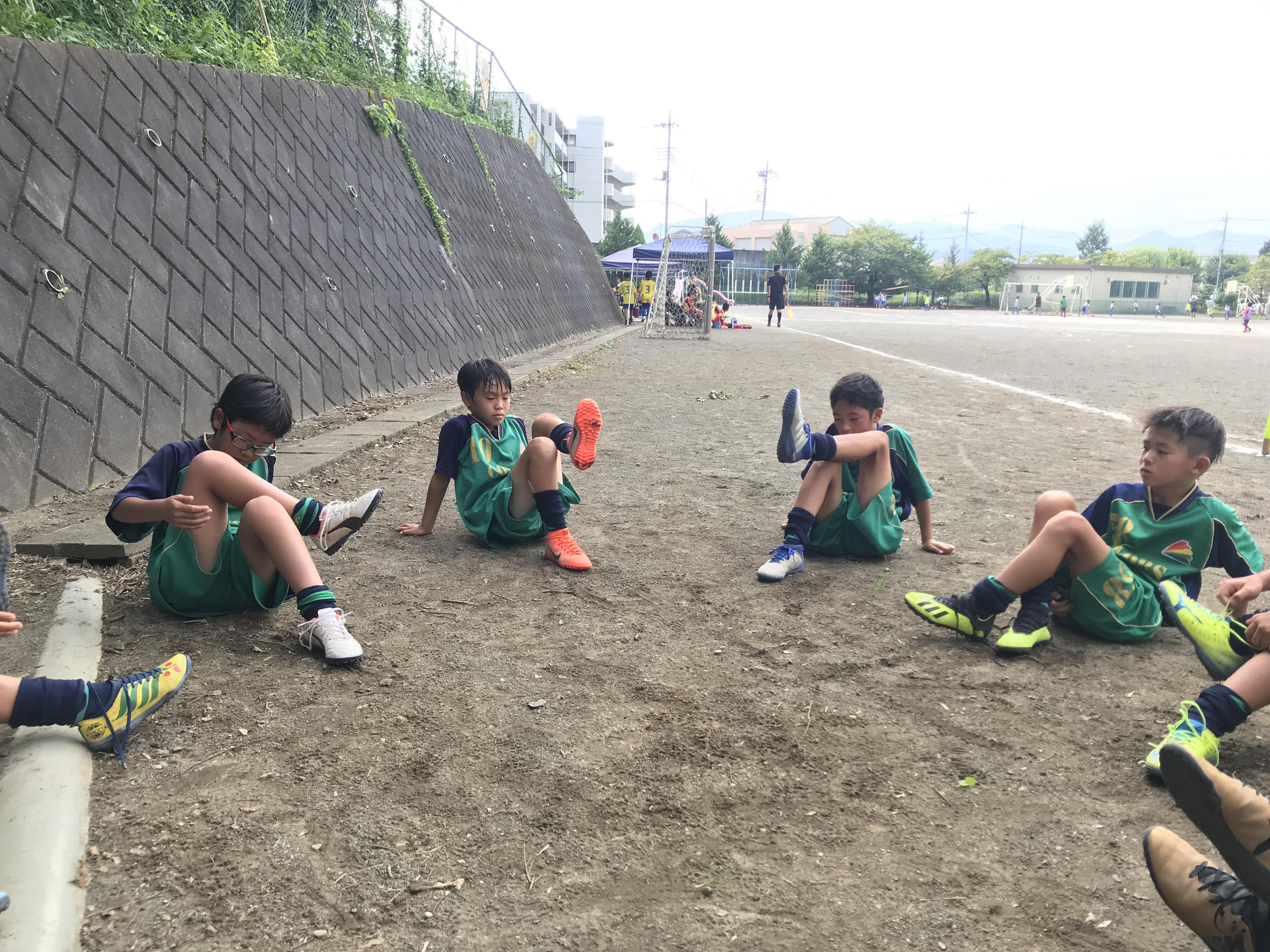 9/1(日) 秋季リーグ① 4年生