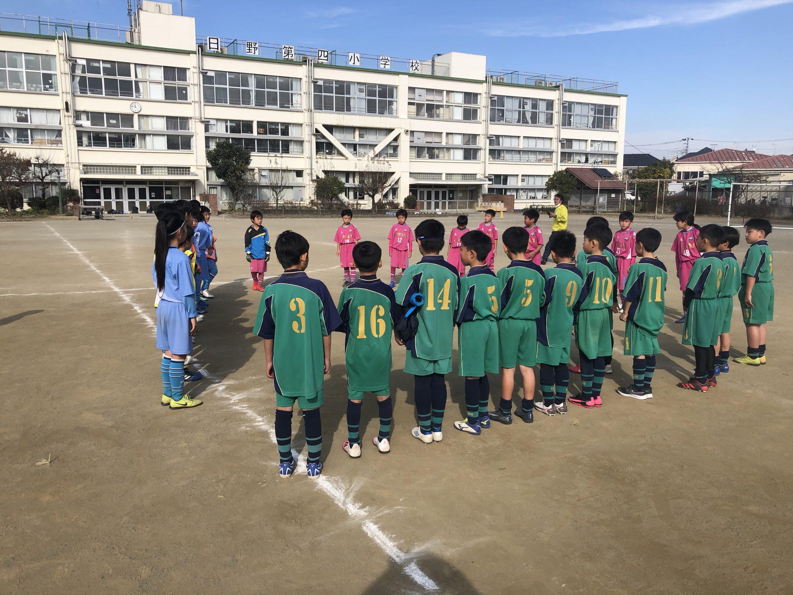 12/12(土)U10交流戦